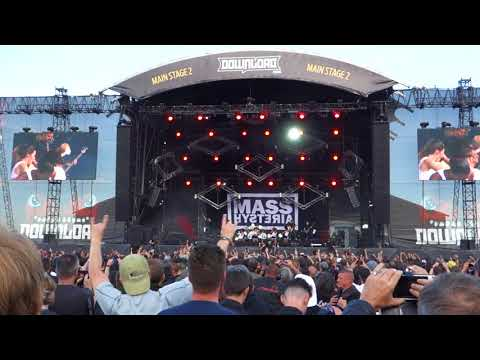 Mass Hysteria  Respect to the Dance Floor  Download Paris  17062018