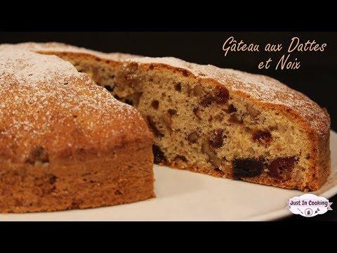 recette-de-gâteau-moelleux-aux-dattes-et-aux-noix