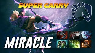 Miracle Anti Mage Super Carry | Dota 2 Pro Gameplay