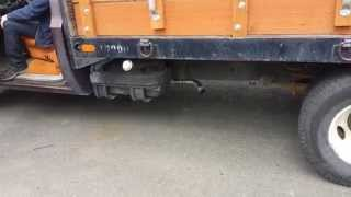 78 Chevy C30 454 dumptruck finished exhaust