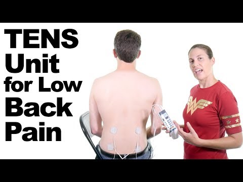 How to use a TENS Unit for Lower Back Pain Relief Ask Doctor Jo