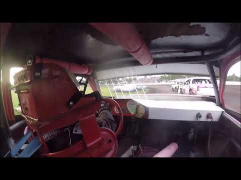 Adam Snyder - Hobby Stock Heat - Murray Co Speedway 8/2/19