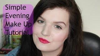 Simple Evening Makeup Tutorial | LiddieLoo Thumbnail