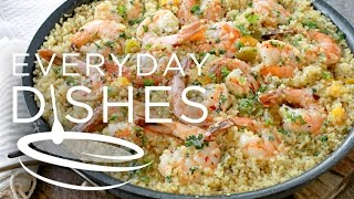 Garlic Shrimp & Quinoa