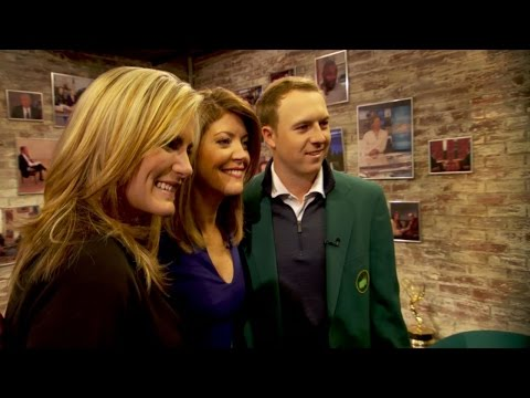Jordan Spieth and Lexi Thompson in New York City for Drive, Chip and Putt