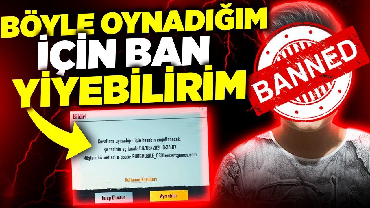 ÖYLE BİR OYNADIMKİ BAN YEDİM SANDIM!!! - PUBG Mobile