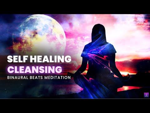 Self Healing & Cleansing: Full Body Healing, Binaural Beats, Enhance Self Love - 528hz Healing Music