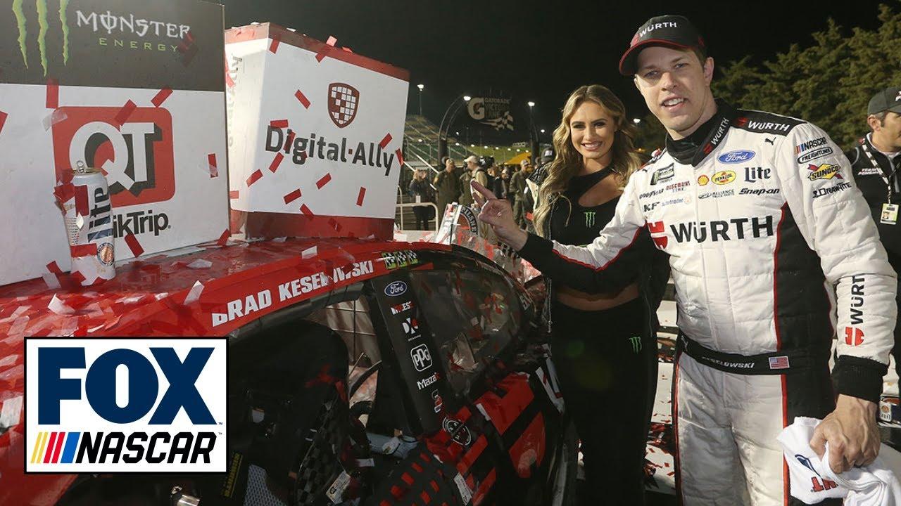 Winner's Weekend: Brad Keselowski and Paul Wolfe at Kansas Speedway | NASCAR RACE HUB