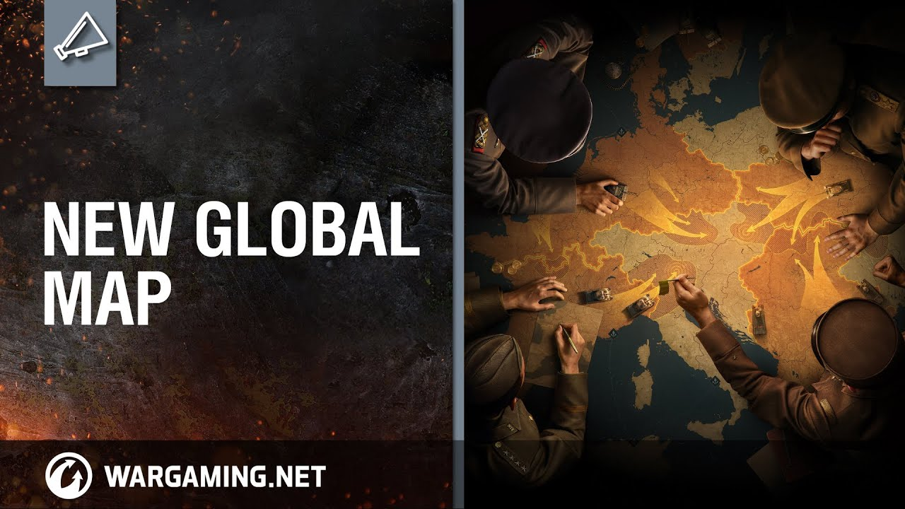 New Global Map [World of Tanks] - YouTube