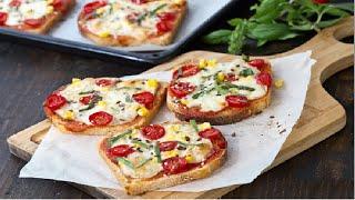 Bread Pizza Recipe - How to Make Delicious Bread Pizza