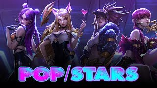 Nightcore - POP/STARS [Deeper Version]
