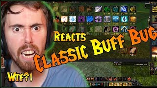 Asmongold Reacts Classic Wow Buff Cap Bug Rages Andamp Tweets Blizzard