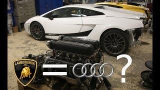 Assembly of Lamborghini Turbo V10 Engine