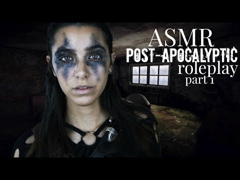 ASMR Post-apocalyptic Roleplay: Chapter 1 (Tapping, Scratching, shaving brush, Match sounds)
