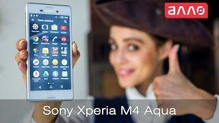 Видео-обзор смартфона Sony Xperia M4 Aqua(Купить смартфон Sony Xperia M4 Aqua Вы можете, оформив заказ у нас на сайте ..., 2015-06-05T14:54:44.000Z)