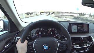 2017 BMW 520d xDrive G30 POV Test Drive