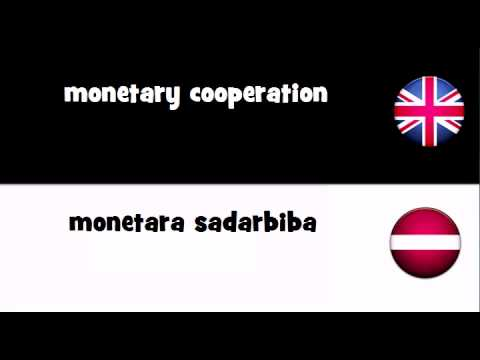 TRANSLATE IN 20 LANGUAGES = monetary cooperation