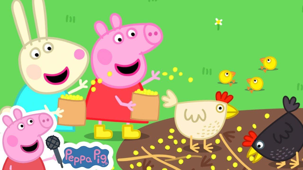 The Animal Sounds Songs | Peppa Pig Songs | Peppa Pig Nursery Rhymes & Kids Songs