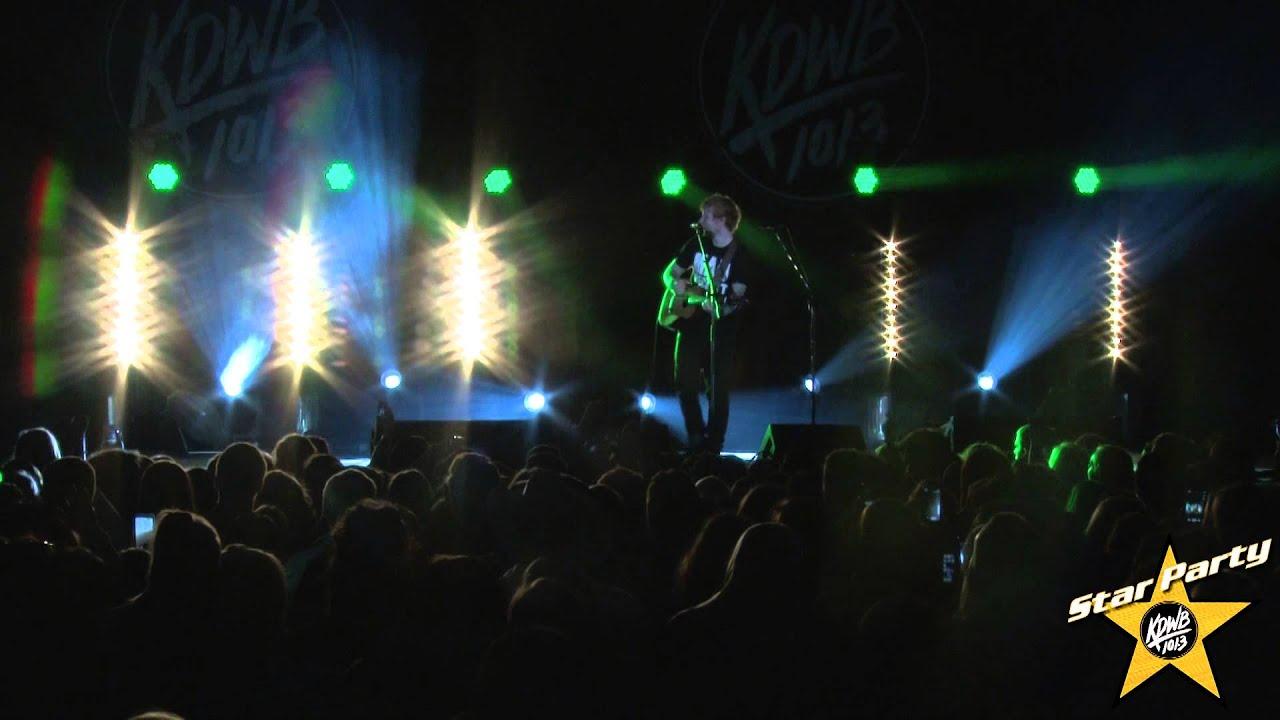 Download Ed Sheeran Performs 'Sing' Live at KDWB's Star Party 2014
