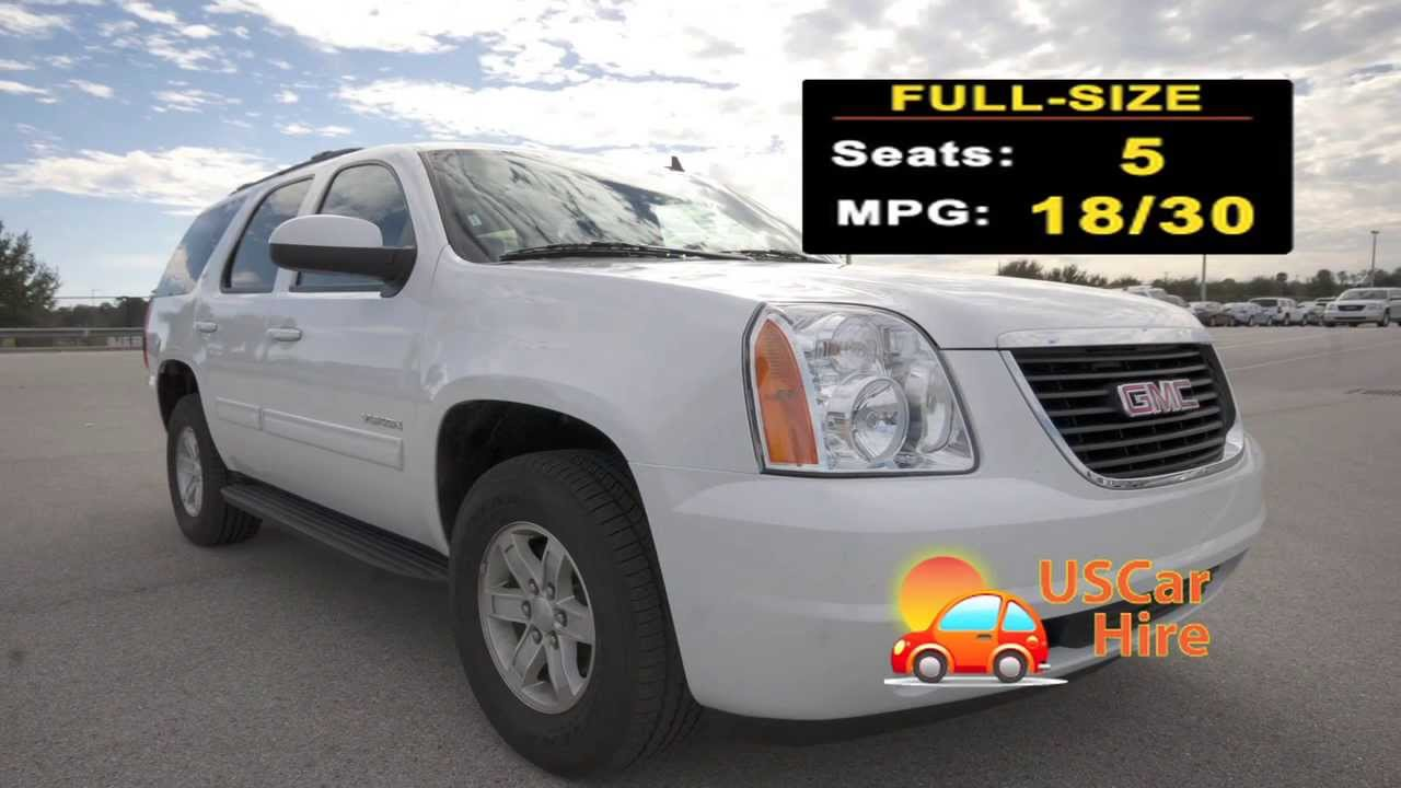 Full Size Suv Car Hire Orlando
