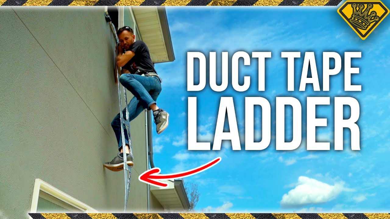 How Strong Is A Duct Tape Ladder?