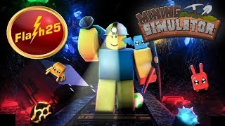 Roblox with Viewers🔴Mining Simulator (Private Server)