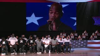 @Ne-Yo Performs National Anthem As Celtics & Bucks Kneel In Solidarity