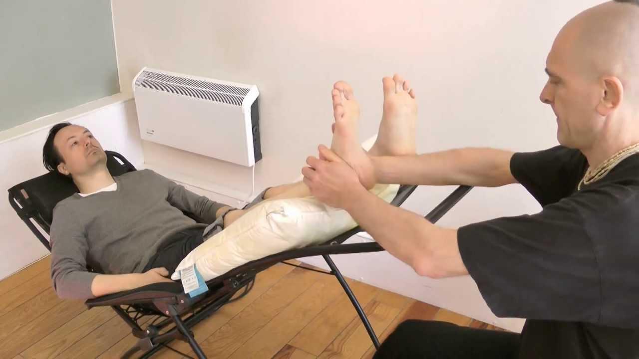 Gay foot massage