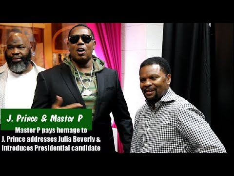 Master P Surprises J Prince At Book Signing, Addresses Julia Beverly & Introduces Next President