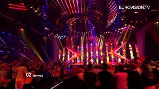 Stella Mwangi - Haba Haba (Norway) - Live - 2011 Eurovision Song Contest 1st Semi Final