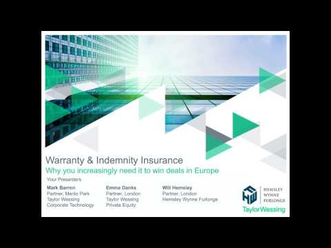 Warranty & Indemnity Insurance - Why you increasingly need it to win deals in Europe