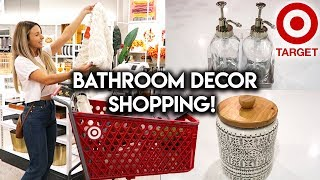 SHOP WITH ME AT TARGET | NEW BATHROOM DECOR HAUL