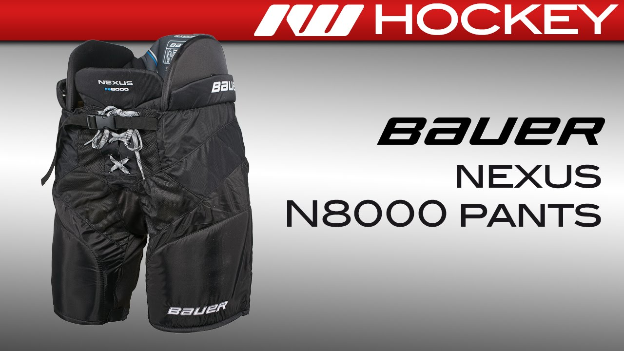 Bauer Nexus N8000 Ice Hockey Pants - Senior LG - Ice Warehouse