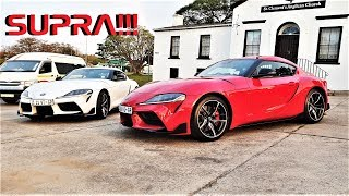 Here is some fun in the NEW TOYOTA SUPRA!