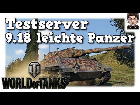 World of Tanks - Testserver 9.18, leichte Panzer [deutsch | News]