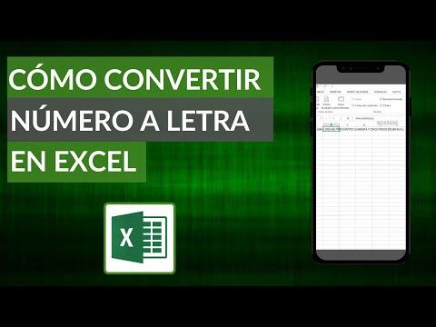 Cómo Convertir Números a Letras en Excel - La Mejor Fórmula