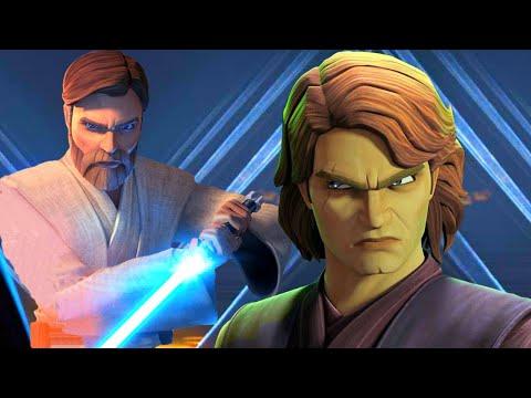 Obi-Wan was Mad at Anakin for killing Count Dooku(Canon) - Clone Wars Season 7