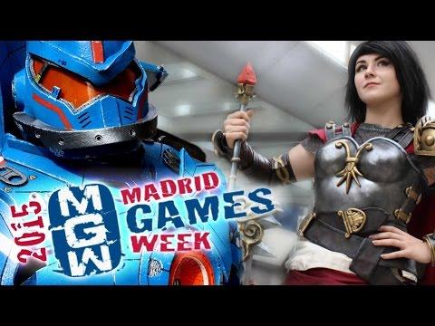 MADRID GAMES WEEK 2015 - COSPLAY MUSIC VIDEO