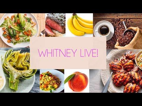 What Whit Eats! Live Q&A about FOOOOOOD!!!
