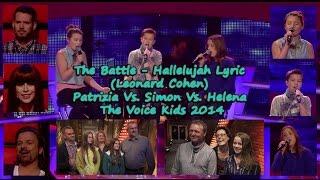 The Battle - Hallelujah - Patrizia Vs Simon Vs Helena The Voice Kids 2014