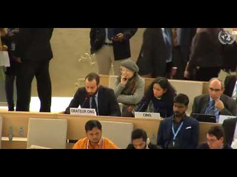 37th Session Human Rights Council - Item 10 GD - Mr. Konstantinos Kakavoulis