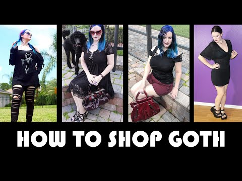 Gothic Clothing: How To Build A Goth Wardrobe  | PHYRRA