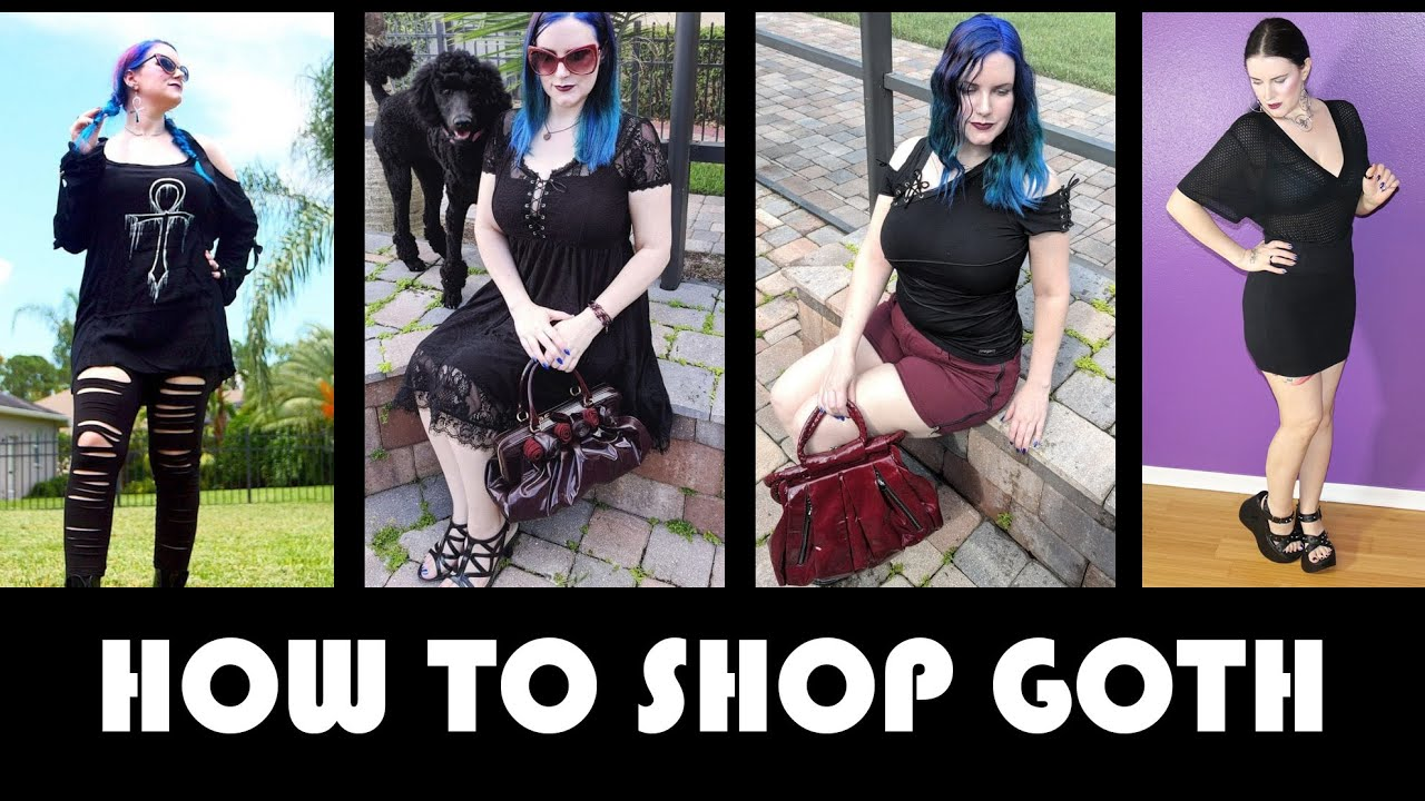 b2fe2fd5d29 Gothic Clothing  How to Build a Goth Wardrobe - YouTube