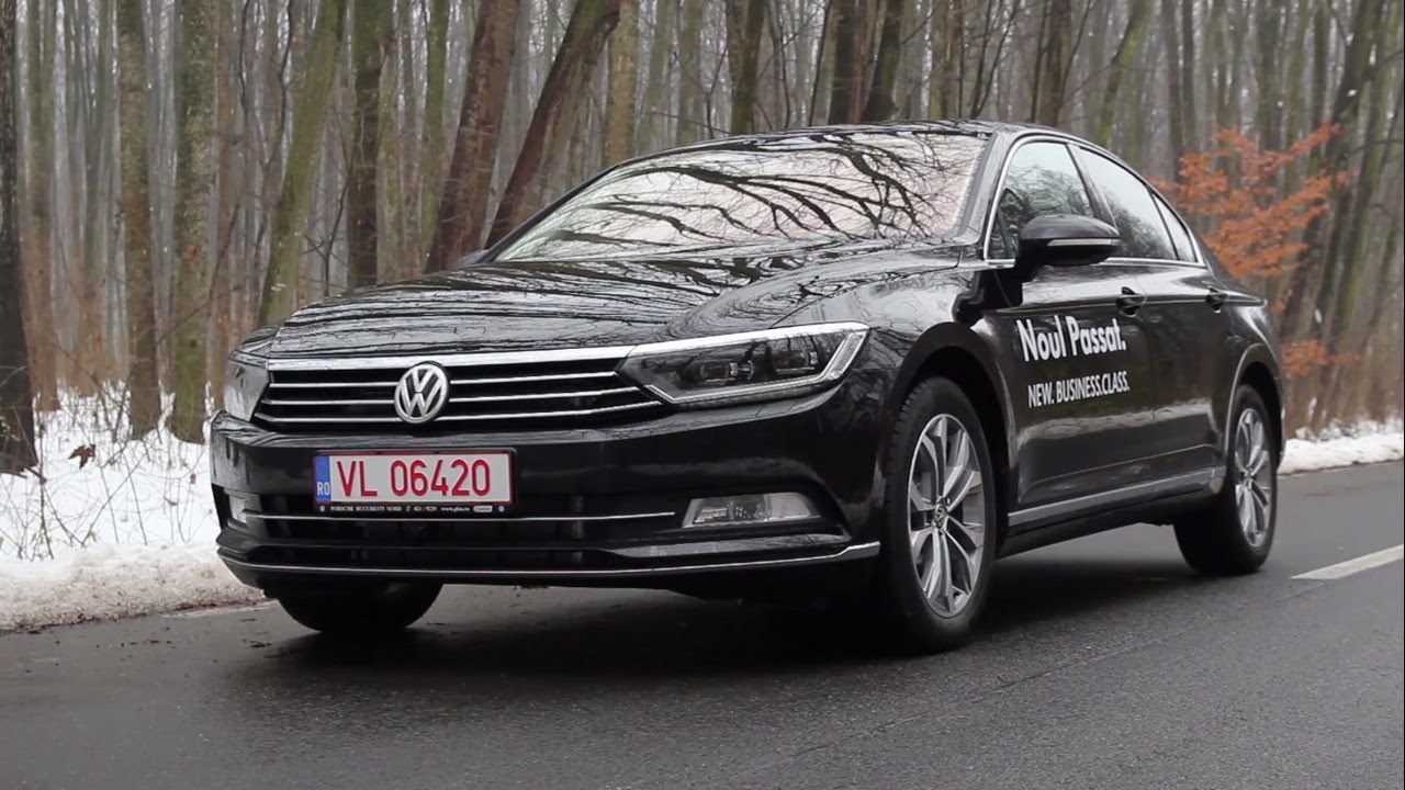 test 2015 volkswagen passat b8 2 0 tdi dsg youtube. Black Bedroom Furniture Sets. Home Design Ideas