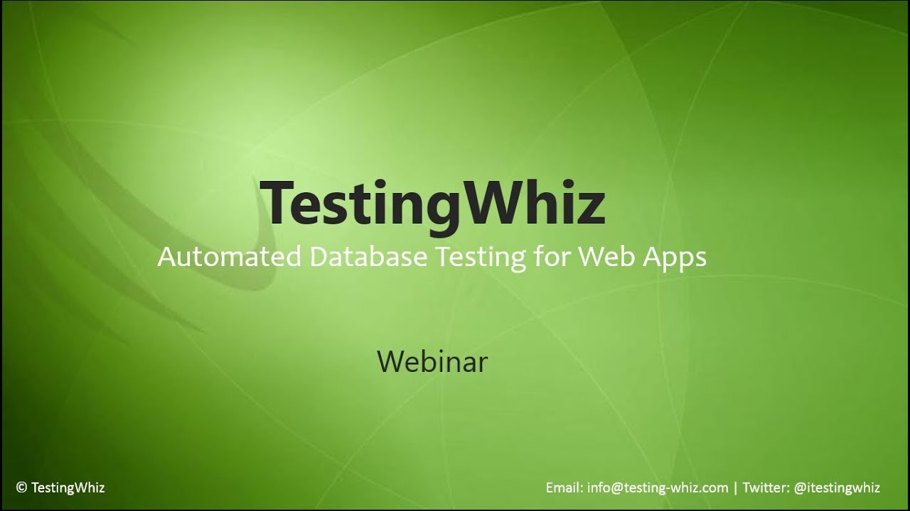Database Test Automation with Automated Regression & Functional Testing