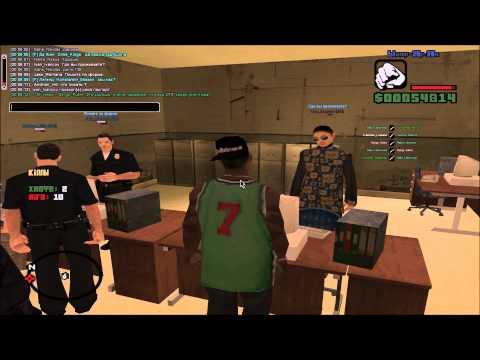 Попался в руки FBI, допрос, побег! SAMP-RP [02]