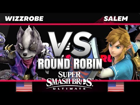Wizzrobe (Sheik/Wolf) vs. Salem (Link) - RR - The Race for the Spectrum