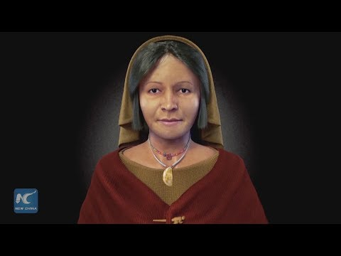 Experts recreate visage of 4,000-year-old Peruvian noblewoman