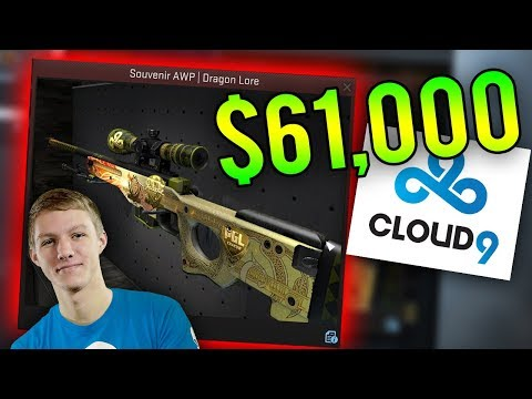 The Most Expensive Dragon Lore EVER Sold! (C9 Skadoodle $61,000 Souvenir Lore)