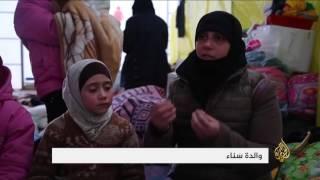 عائلات نازحة من أحياء حلب الشرقية تعيش أوضاعا صعبة